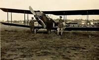 Early Aviation A British Bristol Fighter At Hendon During World War I 6x4 PHOTO