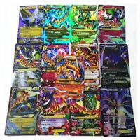 60 Stück Pokemon EX Flash Karten  47Pcs Basic Karten + 13Pcs Mega Karten