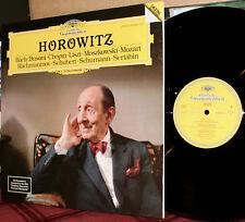 DGG LP 419 045-1: HOROWITZ - Bach/Busoni, Chopin, Liszt, Mozart, ++ 1985 GERMANY