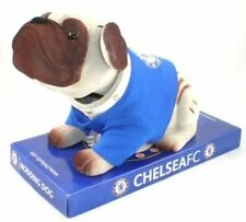 CHELSEA FC OFFICIAL LICENSED NODDING DOG IN GIFT BOX - Ideal Gift