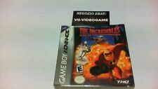 THE INCREDIBLES RISE OF THE UNDERMINER  GAME BOY ADVANCE NUOVO !!!!!! RARO