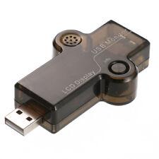 OLED Display USB Port Security überwachen Spannung Strom Kapazität Energie Zeit Tester