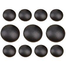 11Pcs Black Shank Buttons Set for Suit Jackets, Blazer or Sport Coat