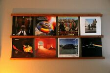 Wall Mounted Wood Vinyl Record Display