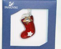 Swarovski Noël Ornement Bottes Original Emballage 1054568 Neuf