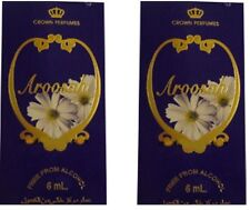 2 aroosah 6ml By Al Rehab Best Seller Profumo/Attar/ittar 2x6ml