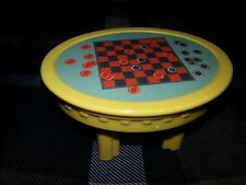 Fisher Price Loving Family Dollhouse Kids Playroom Board Game Checkers Table