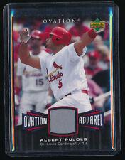 Albert Pujols 2006 Upper Deck Ovation Apparel Jersey St. Louis Cardinals