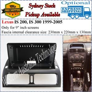 For 9 Nine Inch Screen Fascia Fits Lexus IS200 IS300 1999-2005-