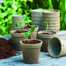 Romberg 48 Anzuchttöpfe 100% torffrei Anzucht Töpfe 8 cm Garten Aussaat Pots
