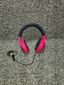 Razer Kraken Neon Pro Headphones with Microphone Wired Analog red / pink