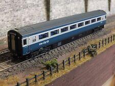 2P-005-037 NEW DAPOL N GAUGE MK3 2ND CLASS COACH BLUE GREY E42101 HST