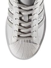 NEW Adidas Women s Superstar Platform Sneakers Size 8 Light Grey 003fdfdd489