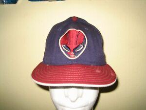 51S LAS VEGAS NEW ERA ALIEN BASEBALL HAT CAP ADULT SIZE 6 7/8 MLB STARS AVIATORS