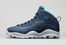 2016 Nike Air Jordan 10 X Retro LA Los Angeles Size 12. 310805-404 1 2 3
