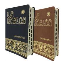 Biblia Latinoamericana -Simil Piel Negra Uñeros -Español Latinoamerica -Catolica