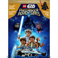 LEGO Star Wars The Freemaker Adventures Complete Season 2 DVD Includes Vader Pin