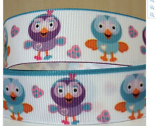 Giggle and Hoot ribbon for cake decorating or scrapbooking Hootabelle Love Heart