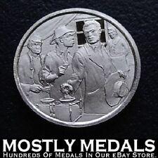 Franklin Mint Sterling Mini-Ingot: 1870 15th Amendment Guarantees Right To Vote