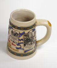 ANHEUSER BUSCH - Beer Mug Stein 1905-1914  Advertising Thru the Decades ceramic
