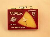 ASTATIC N575-7D record needle stylus W-325STD 126566 704D 2916D STEREO  DIAMOND