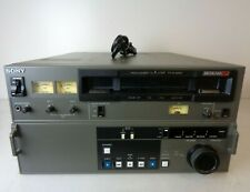 Read Details Sony PVW-2600 Betacam SP Videocassette Recorder Editing Player