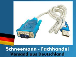 Konverter  USB  COM  RS232 Serial Kabel Adapter Modul  USB 2.0 zu 9-pin NEU