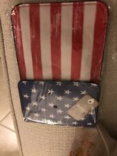 Small American Flag Crossbody For Phone Or ID
