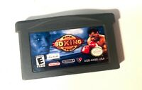 Mike Tyson Boxing NINTENDO GAMEBOY ADVANCE GBA Tested + Working & Authentic!