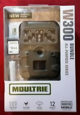 Moultrie W-300 12Mp Game Camera Bundle, 16Gb Sd Card & 8 Aa Batteries Included