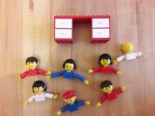 LEGO 6 Großkopf Figuren: Erwachsene u. Kinder ☆ Schreibtisch Zugabe ☆