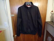 """Steve & Barrys M Black Long Sleeve Windbreaker Jacket """" BEAUTIFUL JACKET """""""