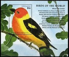 Grenada 2015 MNH MS, Birds of World, Western Tanager (V4n)