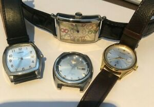 4 x Watches - Lorus, Accurist, Seiko 5 Automatic, Muller Automatic.