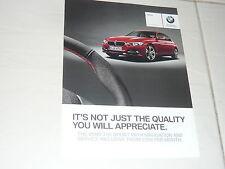 2013 small BMW Brochure F30 3 Series saloon 316i Sport X1 18d xLine 116i F20 4
