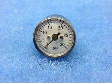 small air pressure gauge 0- 30psi 10 pcs. great for hvlp systrms