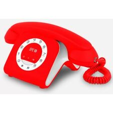 Tel�fono Inal�mbrico SPC retro Elegance mini rojo