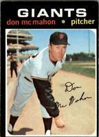 1971 Topps #354 Don McMahon - EX