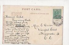 Miss Ethel Dixon Warnford Court Throgmorton Street London EC 1905 850a