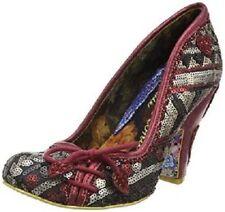 Scarpe col tacco da donna rosse, con Alto (7,6-10 cm)