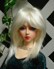 "Doll Wig, Monique Gold ""Jojo"" Size 7/8 White Blonde"