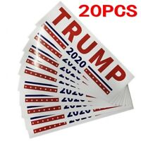 20x Donald Trump For President 2020 Bumper Sticker Keep Make America Great Decal