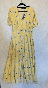 Sportsgirl Ladies Maxi Dress Size 10 NWT Rrp $109