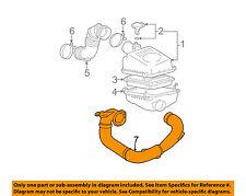 Pontiac GM OEM 03-08 Vibe Air Cleaner Intake-Inlet Tube Duct Hose 88969117