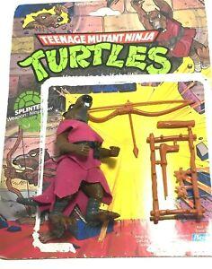 Playmates Toys 1988 Teenage Mutant Ninja Turtles Splinter Action Figure
