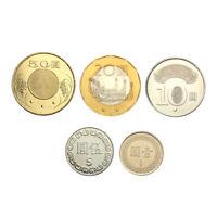Taiwan Coin Set 5 PCS, 1 5 10 20 50 Taiwan Dollars, Republic of China 90-104,UNC