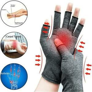 1 Pairs Anti Arthritis Therapy Compression Gloves Ache Pain Joint Relief Warm