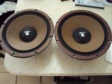 "RARE Vintage Sony SD-3030W ULM Woofers Speakers.12"""