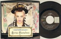 "CULTURE CLUB Karma Chameleon  7"" Ps, Usa Issue, B/W That'S The Way, 34-04221"