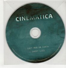 (GO839) Cinematica, Last Man On Earth - 2011 DJ CD